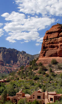 Boynton Canyon red rock country in scenic Sedona, AZ