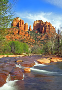 Cathedral Rock is the most photographed of all of Sedona's scenic red rock formations