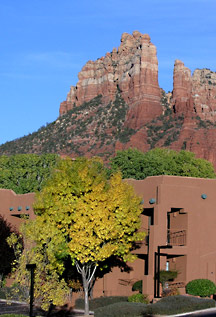 Beautiful hiking trails behind Sedona's Kings Ransom Hotel